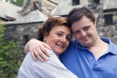 Emily e seu filho Jason